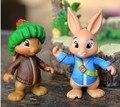 Toys2pcs / set Peter Rabbit y amigos adornos ardillas adornos de muñecas