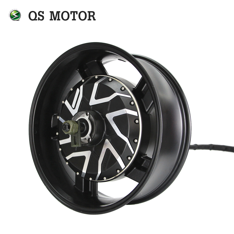 QS 12KW 17*6.0inch In-Wheel Hub Motor With Kelly QSKLS96601-8080H Controller