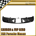 Car-Style Racing For Porsche Macan OEM Style Carbon Fiber Front Bottom Diffuser
