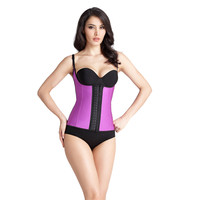 Women Waist Trainer Corsets Sexy Body Shapers Latex Corsets and Bustiers Cincher Underbust Strap Steel Boned Shapewear XS 6XL