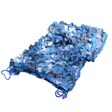 7*8M(275.5in*315in)sky blue military camouflagenet 150D army netting huntting navy camo military camouflage fabric cheap camo