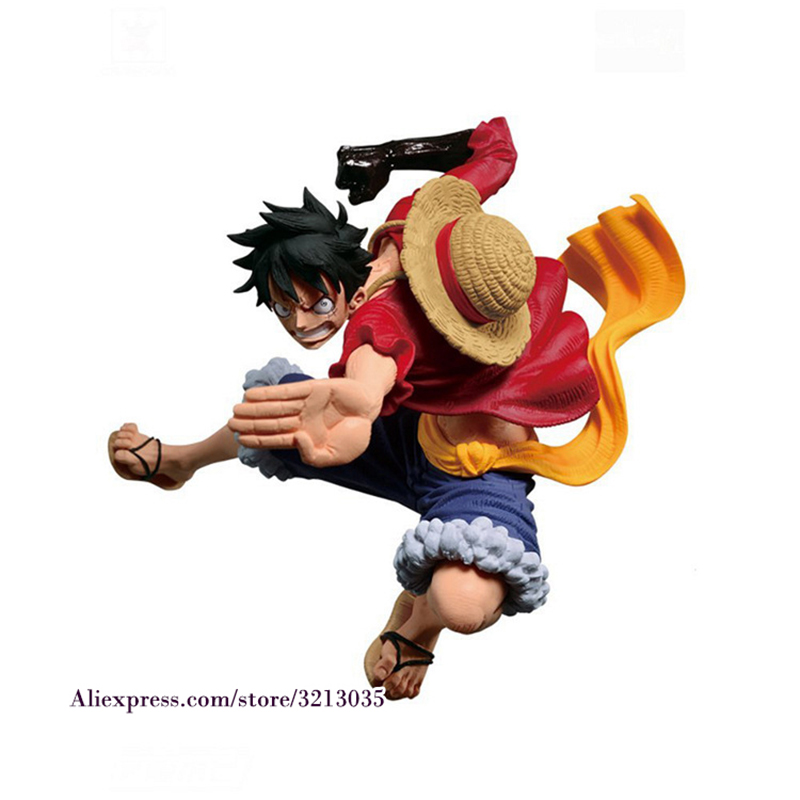 Us 11 08 30 Off Anime One Piece Luffy Figure Toy Monkey D Luffy Gear 4th Haki Scultures Big Nightmare Luffy Action Figure Gift For Children In
