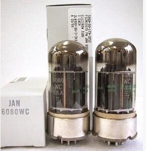 1PCS-2PCS/LOT USA GE 6080  6080W HIFI DIY 6N5P/6AS7/421A 2pcs lot diy hifi tube 5u4gb rca5u4gb 5u4 usa