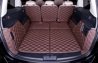 Top quality! Special trunk mats for Volkswagen Sharan 7seats 2016 2012 waterproof durable boot carpets cargo liner,Free shipping