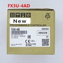1 سنة الضمان جديد الأصلي في مربع FX3U 4DA FX3U 4AD FX3U 2HC FX3U 4AD TC ADP
