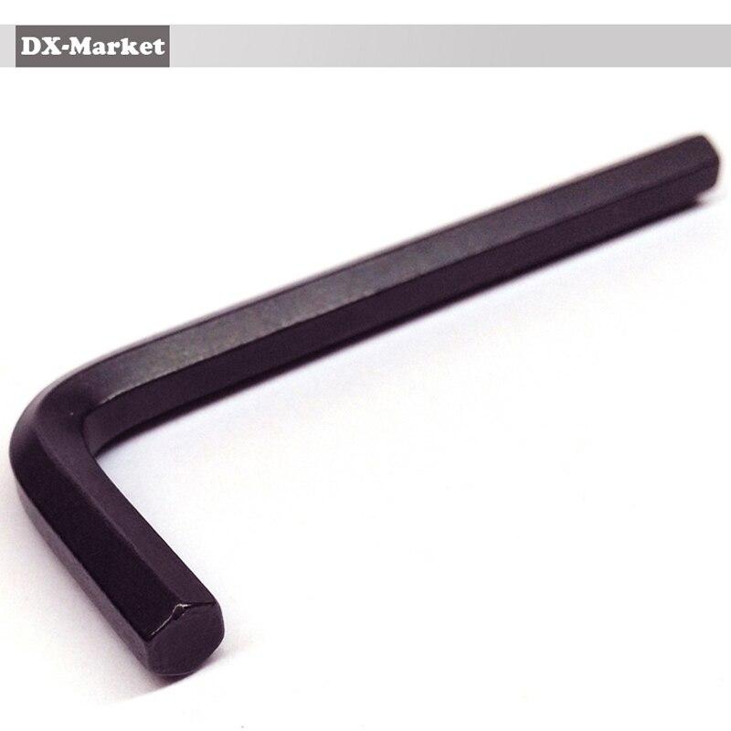 6 mm-es hatszögletű kulcs, 20 db, fekete metrikus allen - Kézi szerszámok - Fénykép 3