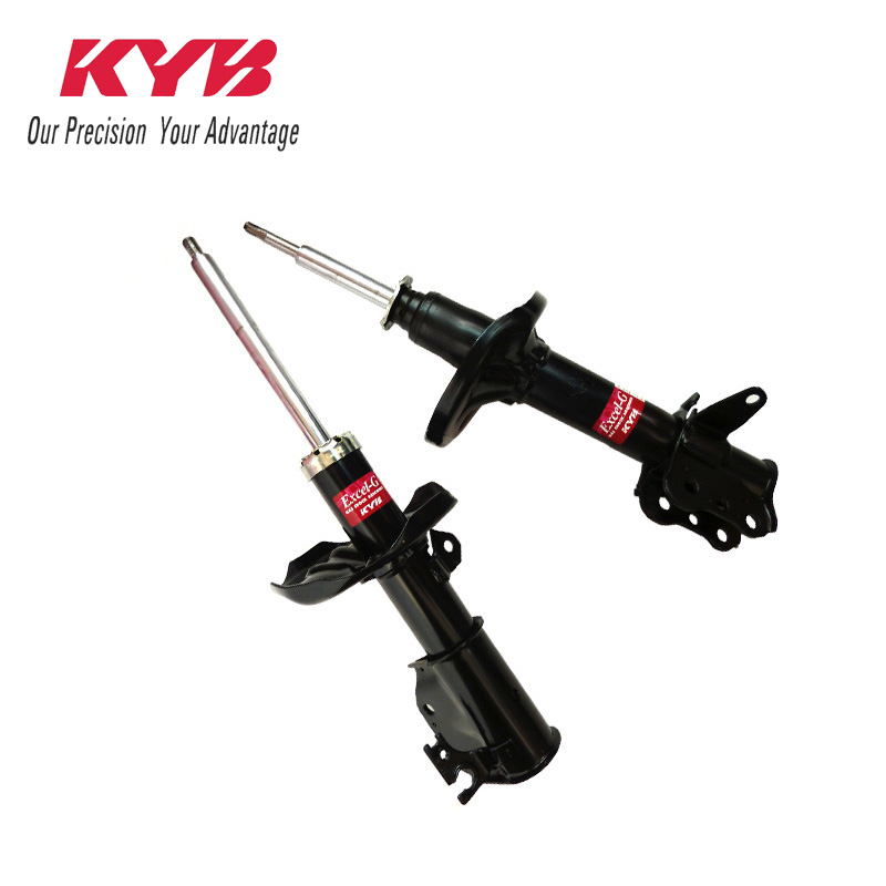 KYB car Left shock absorber 633260 for  Citroen Elysee auto parts gopaldas uni plug розовый гладкая анальная пробка