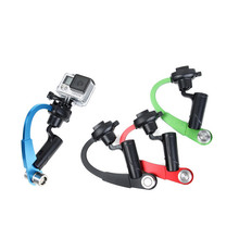 Gopro Stabilizer Handheld Stabilizer Steady Steadycam bow shape for Gopro Hero 4 3+ 4 Session SJCAM SJ4000 Xiaomi yi 4K Camera