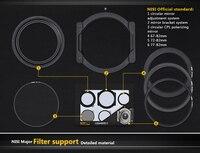 НИСИ V3 Kit 100 мм Стекло квадратный фильтр авиации Алюминий зеркало кронштейн квадратный плагин Простыни Системы для Nikon canon