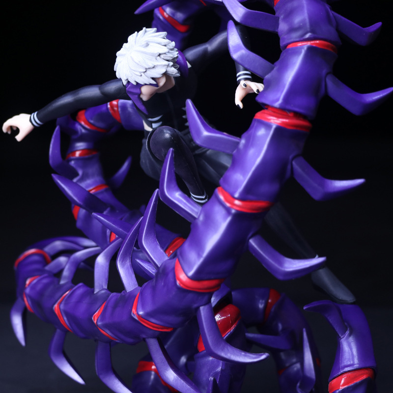 Anime Tokyo Ghoul Kaneki Ken Brinquedos PVC 28CM Centipede KID Action Figure Collectible Model doll Toy Chritmas Gift HZW074