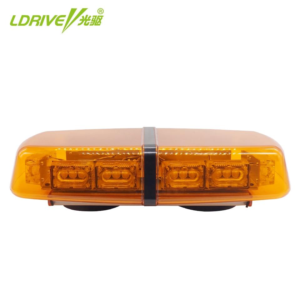36 LEDs Amber Led Car Truck Top Roof Emergency Strobe Flashing Beacon Light Magnetic Cigarette Lighter Plug Yellow Lighting стоимость