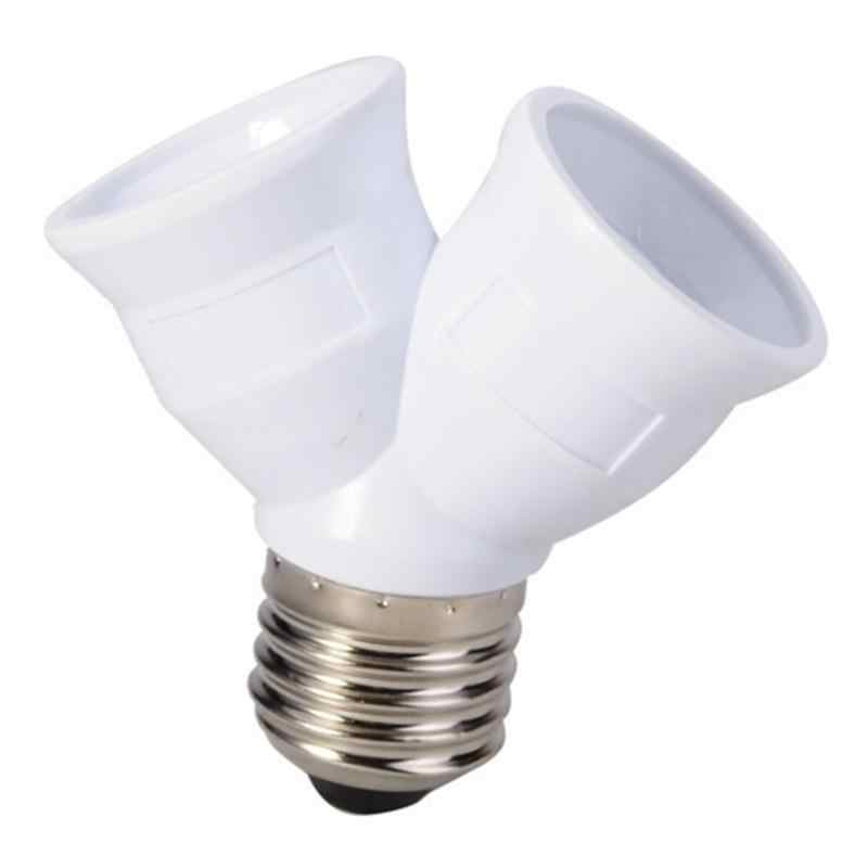 E27 to 2 E27 Light Bulb Lamp Socket Base Adapter Converter Splitter Lamp Holder Converter Bulb lighting