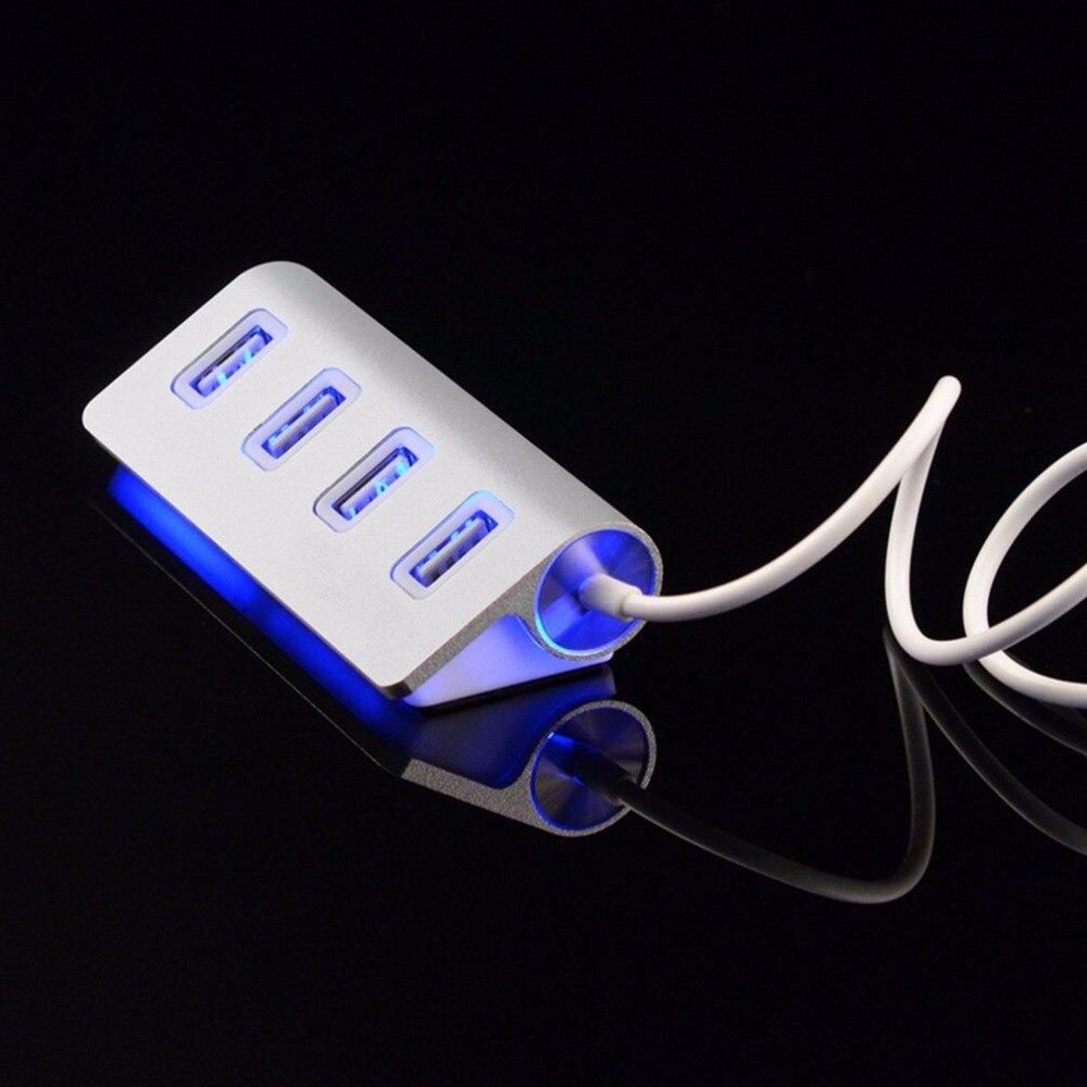 High quality led font b Mini b font 4 Port HUB High Speed USB 2 0