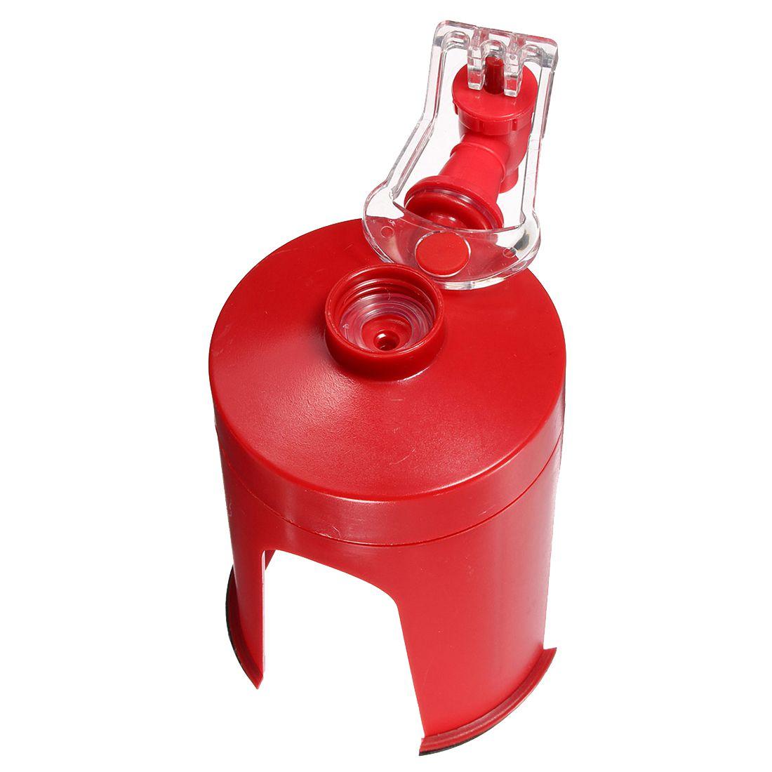 Новый творческий красный Fizz соды заставка Кока кола диспенсер бутылка питьевой воды Dispense машина цитирует устройство