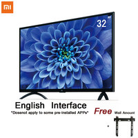 Xiaomi Smart 4A 32 inches 1366x768 LED Television TV Set HDMI WIFI Miracast Ultra thin1GB Ram 4GB Rom Game Play Display