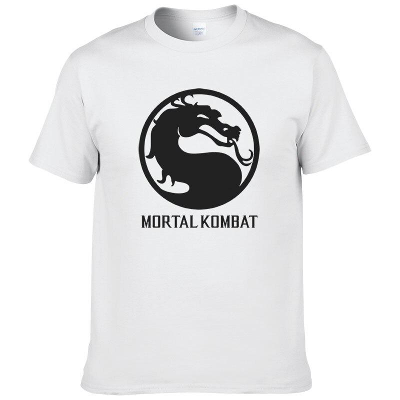 2017 Men Women Mortal Kombat Printed Short Sleeve O Neck T Shirt Summer Cotton T-Shirt Top Tees #078