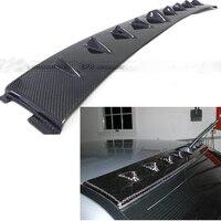 EVO Carbon Fiber Shark Fin Roof Spoiler for Mitsubishi Lancer Evolution EVO 7 8 9 2003 2007