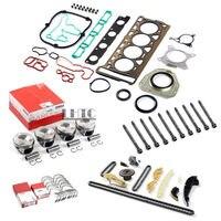 Бесплатная Быстрая доставка капитальный ремонт двигателя восстановить укомплектованный Набор для VW GTI Tiguan AUDI A5 2,0 TFSI CAEB CCTA ЗКК CDN (led)