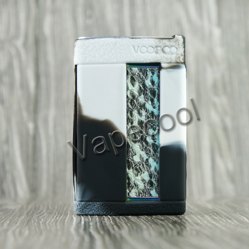 20pcs Non Slip Voopoo too Rubber Silicone Case Skin Sleeve Cover Sticker Wrap for Vape Voopoo