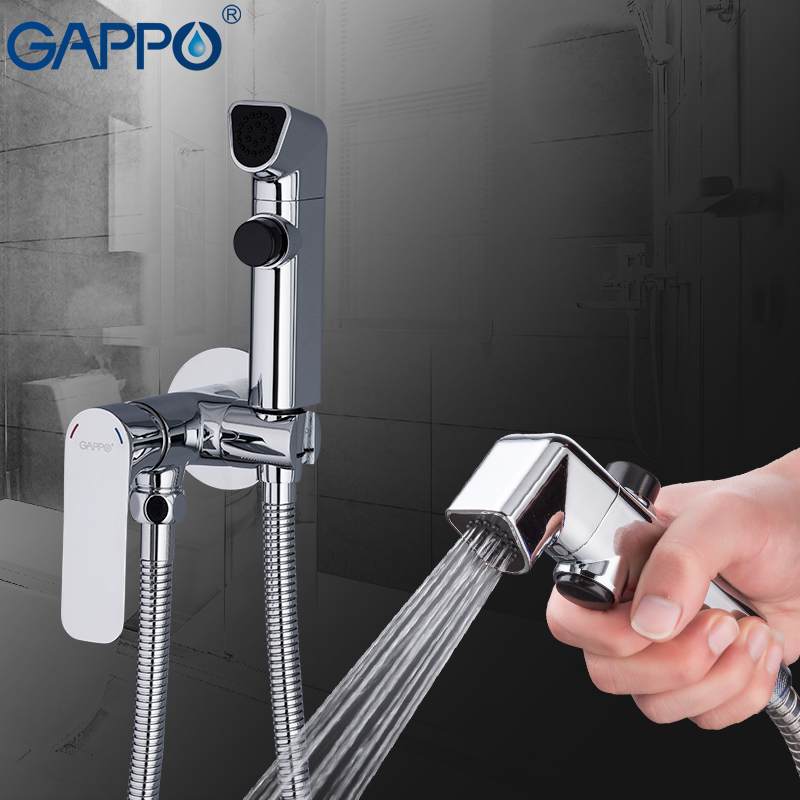 GAPPO Bidets muslim shower bidets sprayer protable bidet mixer toilet water wall mount ducha higienica gappo bidet faucets muslim shower toilet bidets sprayer hygienic shower wall mount washer mixer tap