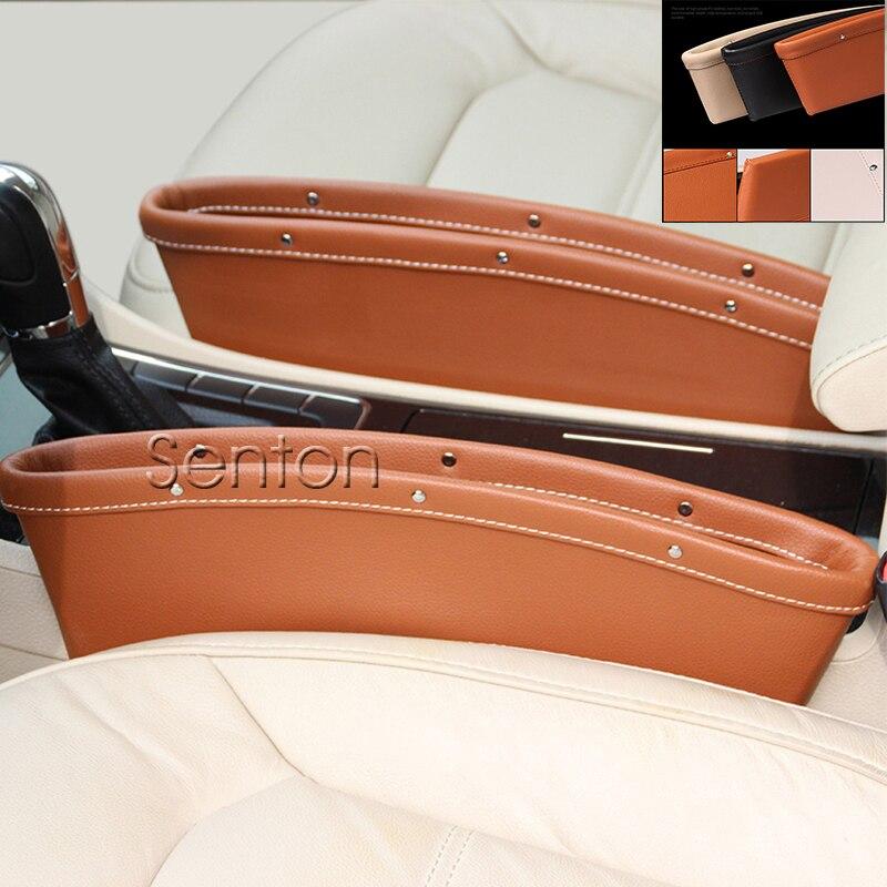 Car Styling Seat Pocket For Subaru Forester Impreza xv Legacy Outback <font><b>kia</b></font> Rio K2 Ceed Soul Cerato Sorento Sportage Accessories