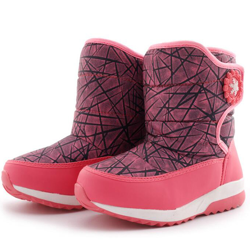 2019 Новое поступление, детские зимние ботинки для мальчиков и девочек модная обувь на платформе для детей 4 7 лет