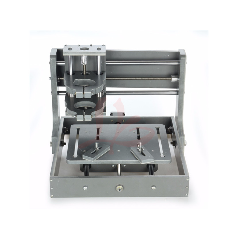 mini DIY frame 2020 cnc milling machine with M8 threaded stainless steel Lead screw triangle