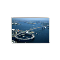 High Quality Acrylic Frige Magnet Tokyo Bay And Bridge Japanese Souvenir