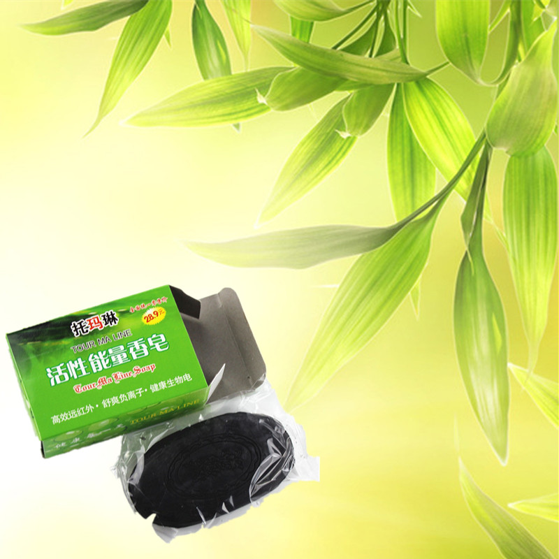 Soap Active Bamboo Charcoal Soap Natural Body Whitening Perineum Armpit Odor Melanin Remover Treatment Blackheads