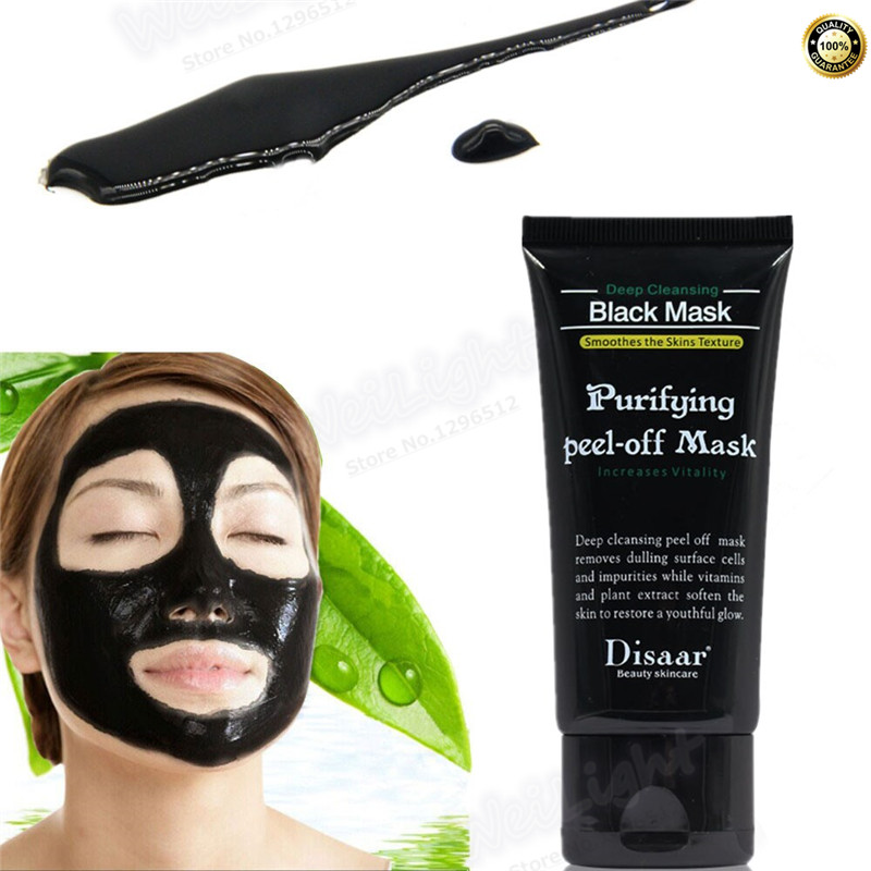 50ml Purifying Deep Cleansing Peel-off Black Mask Skin Care Facial Treatment Mask Blackhead Remover Drop Shipping Masks