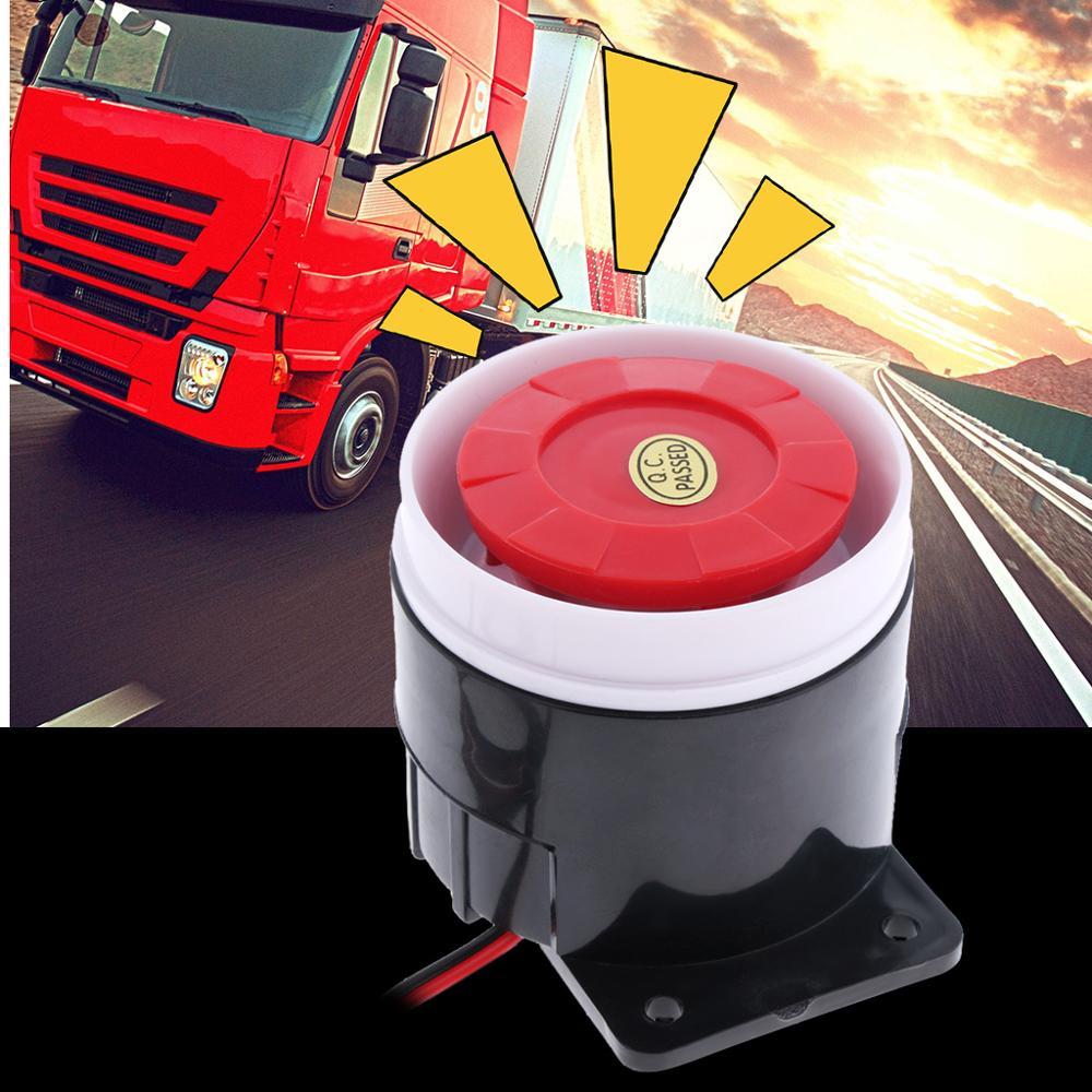 Dc 12 v sirene de advertência do carro backup alarme chifre aviso som beeper sirene reversa chifre para reboque/caminhão/rv/atv/quad acessórios do carro