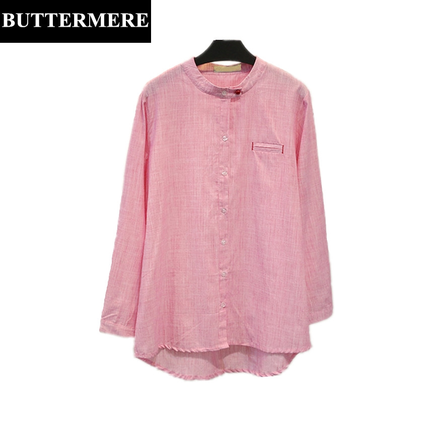 Aliexpress.com : Buy BUTTERMERE Korean Style Big Size Blouse Women ...