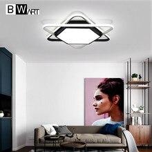 BWART современные светодио дный светодиодные потолочные светильники для жизни детская комната спальня творческий дизайн освещение в помещении Потолочная лампа с дистанционным управлением ZY148