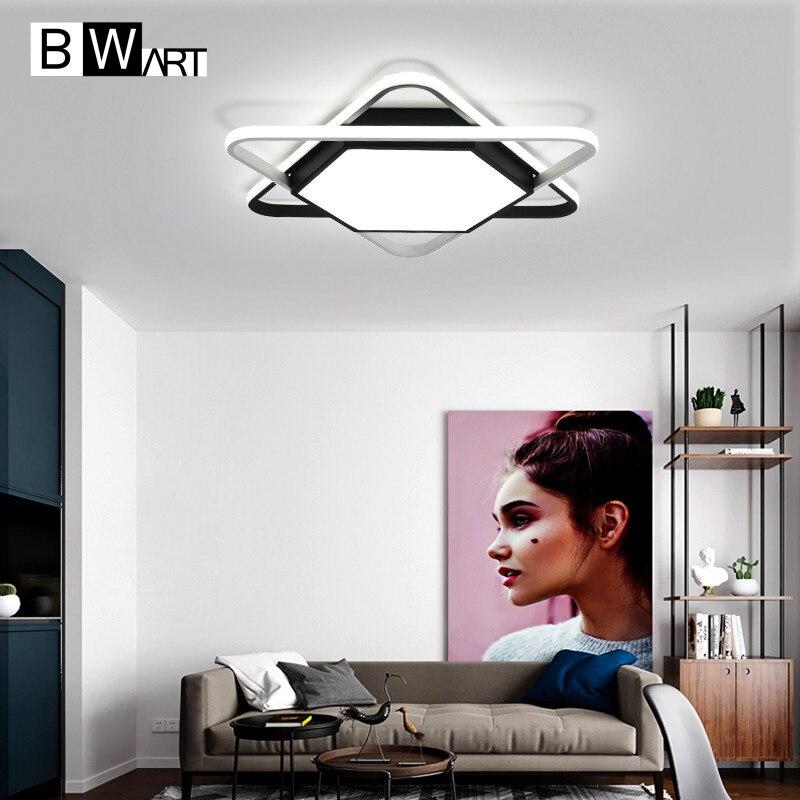 BWART Moderne LED Plafond Lumières Pour Chambre D'enfants Vivants Chambre Creative design éclairage Intérieur de Plafond À Distance Lampe ZY148