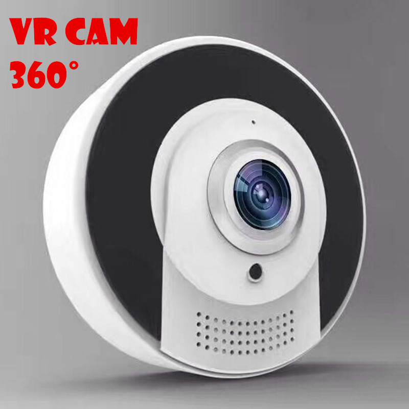VR CAM APP software Fisheye Panoramic IP Camera 1.3MP HD Real Time with MSD card slot support 64G memory 360 degrees ip cam