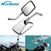 Nordson Motorcycle Side Mirror Rearview Mirrors For Honda Street Bike CB1000R CB1300 CB600F Hornat CBF600 Suzuki Kawasaki Yamaha
