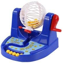 цены Mini Bingo Game Machine Ernie Lottery Machine Fun Puzzle Desktop Toys Educational Board Ga,e