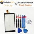 Vkworld VK800X Tela Sensível Ao Toque 100% Original Painel Digitador Substituição Touch Screen Para Vkworld VK800X Smartphone Em Estoque