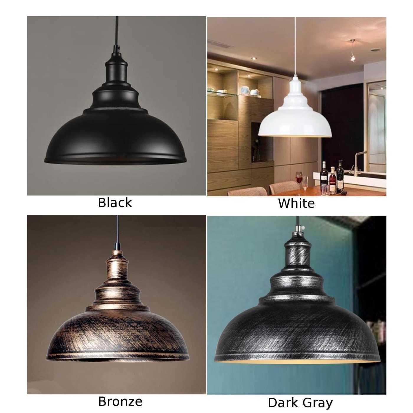 Винтажная промышленная Деревяная Подвесная лампа тени для кухни Лофт подвесной потолочный светильник новый и высококачественный