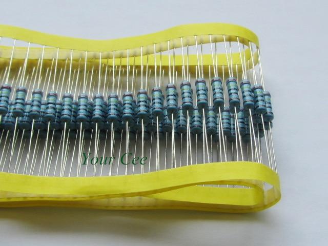 50pcs RoHS Lead Free Metal Film Resistor 1W Watts 56K ohm 56KR 1 Tolerance Precision