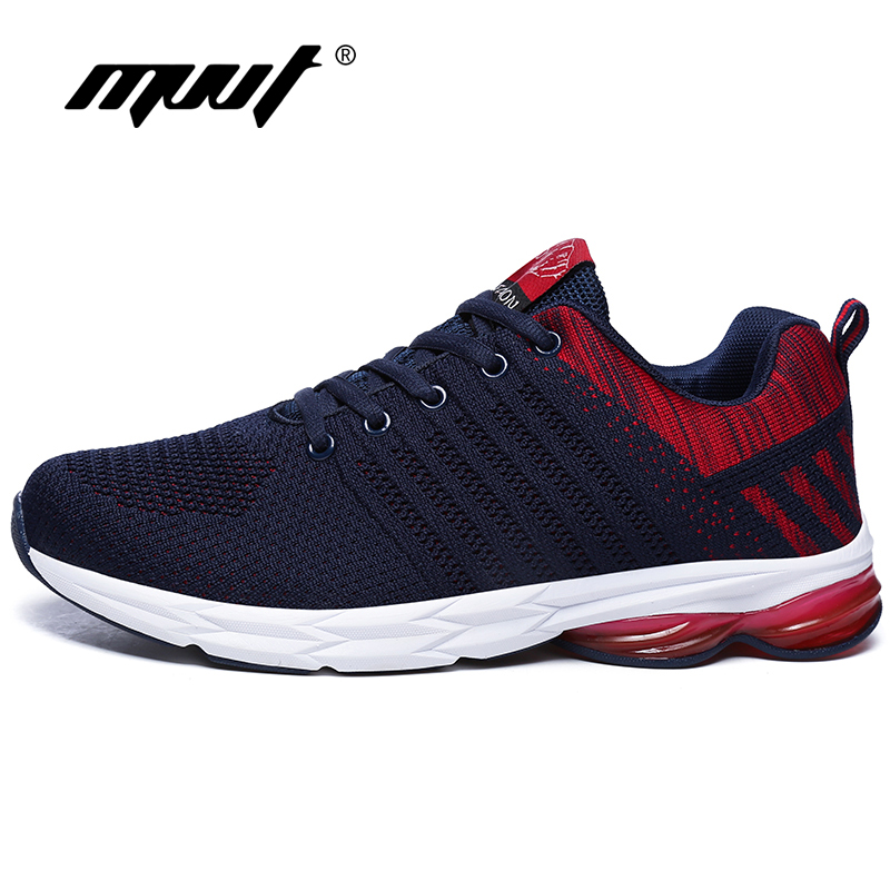 2019 Summer Breathable Running Shoes Men Sneakers Fly-wire Mixed Color Sport Shoes Lightweight Walking Shoes