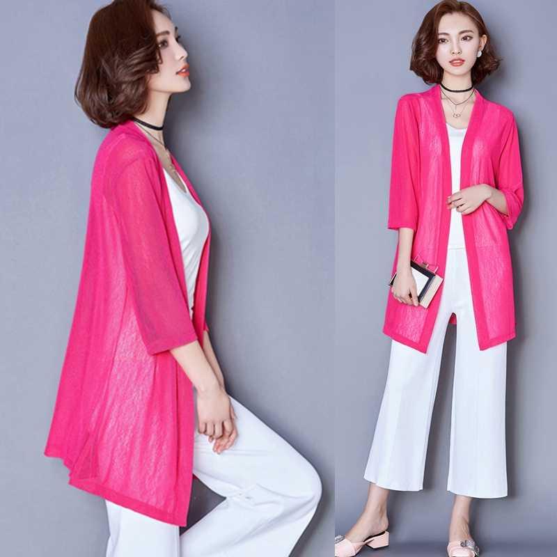 09c3792a009 2018 летние кимоно кардиган Для женщин шифоновая блузка пляжное длинное  рубашка Для женщин S Топы и