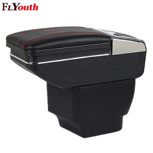 For Mazda 2 Mazda2 2008-2013 Hatchback Car Armrest Box Central Store Content Interior Storage Cup Holder Car-Styling