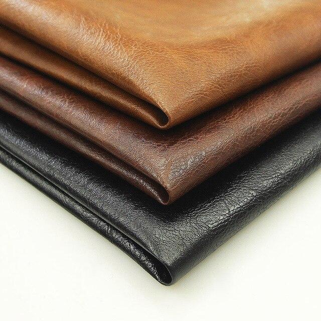 30*45 cm 1 PCS 0.7 milímetros Synthetic Faux Couro Cru material DIY Padrão Lichee Couro PU Carteira Bolsa sapatos Acessórios de Decoração