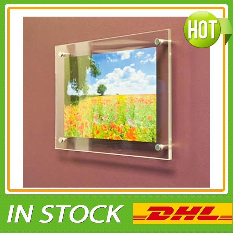 18PCS Led Window Display,Estate Agent Acrylic Poster Frame Light ...