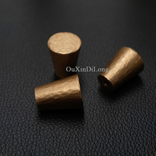 Top Designed 10PCS European Solid Brass Cabinet Pulls Handles Kitchen Cupboard Wardrobe Drawer Door and Knobs Hardware