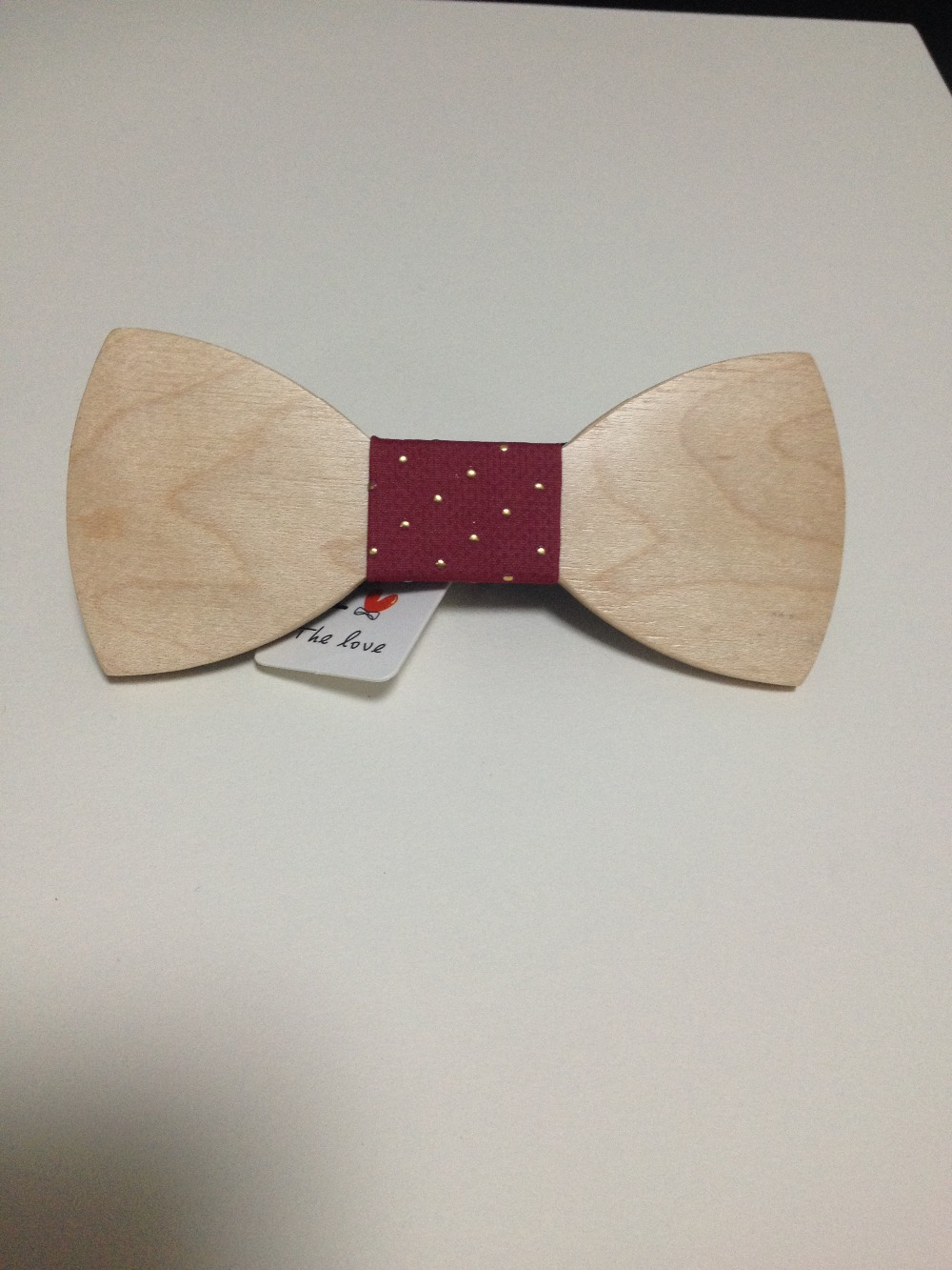 wine bow tie Original Spot wholesale wood tie mens high-end fashion bow tie factory direct free shipping cravat mens