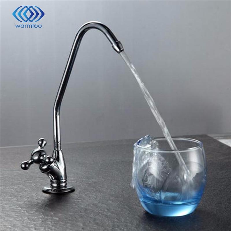 Reverse Osmosis Gooseneck Kitchen Sink Faucet