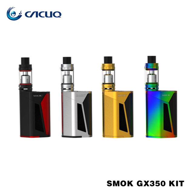 Original SMOK GX350 Kit TC Box Mod with Somk TFV8 Tank 6ml 350W GX350 Starter Kit High Power Vaping Kit VS Smok Alien Kit
