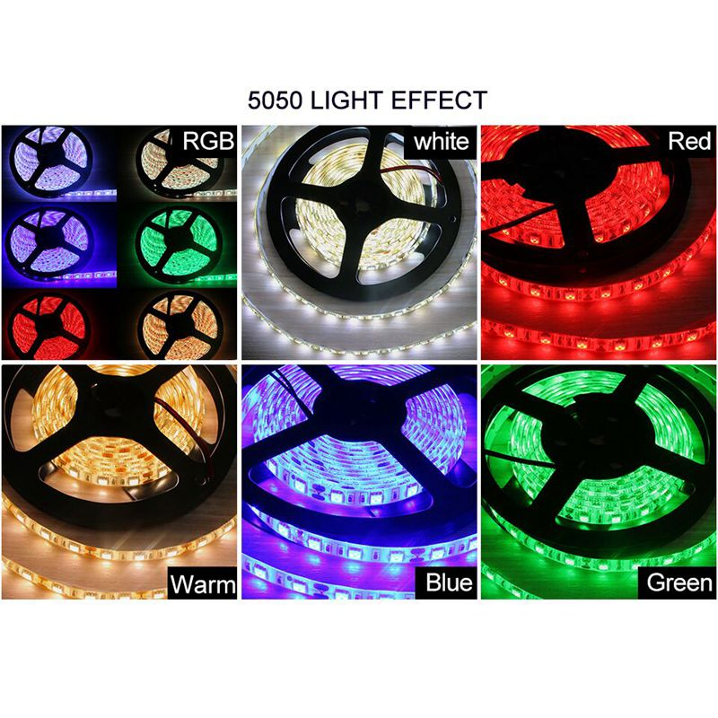 Led strip dc 12v 5m smd 5050 2835 led rgb strip light led led strip dc 12v 5m smd 5050 2835 led rgb strip light led waterproof ip44 ip65 flexible led light tape lamp with eu adapter plug in led strips from lights mozeypictures Choice Image